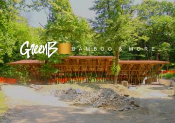 Bambù Gigante – Padiglione di Vergiate – Costruzioni di Moso e Madake in Italia – Filiera Bioedilizia e Architettura